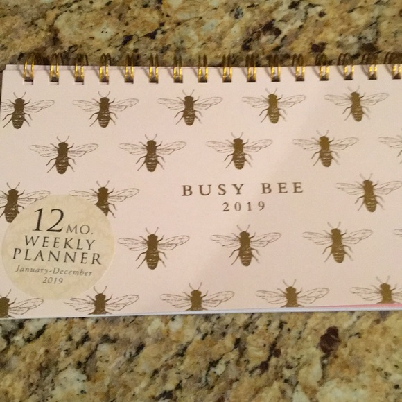 NWT Busy Bee Weekly Planner for 2019 NWT